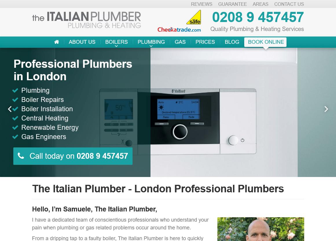 The Italian Plumber